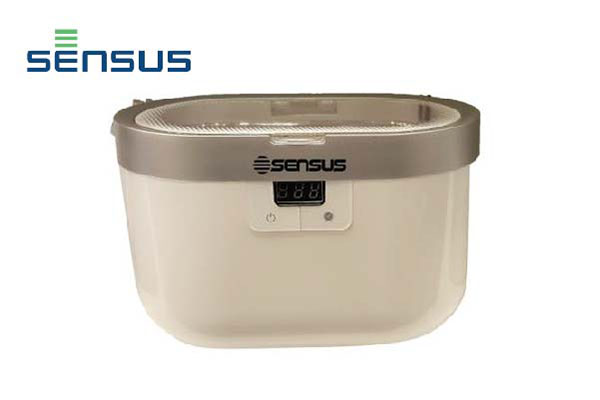 Sensus ultrasonic cleaner for stainless steel, jewelery, watches