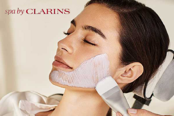 Clarins Spa facial or body treatment for 30 mins